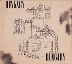 Photo: Promotion de la Hongrie communiste. Signé Mallasz Rusznyak