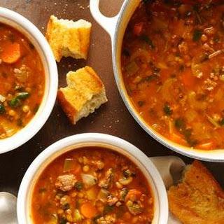 Beef Lentil Soup.