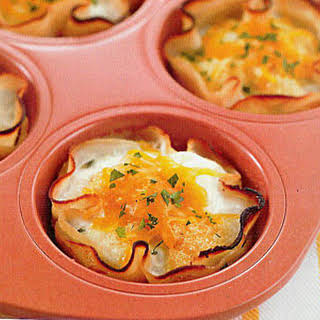 The Biggest Loser's Baked Eggs in Turkey Cups.