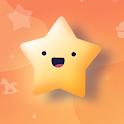 Child Reward -  motivate kids with stars icon