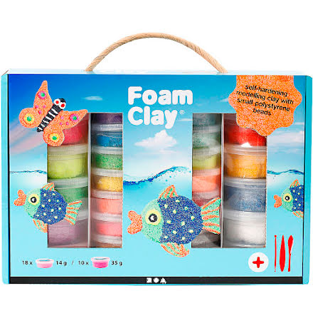 Lear Foam Clay presentask mix