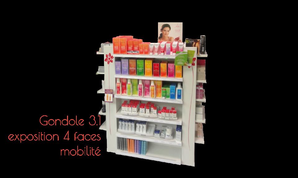 Agencement de la pharmacie avec modul 39 aire for Pharmacie de la claire
