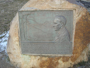 Photo: plaque about Stephen Mather