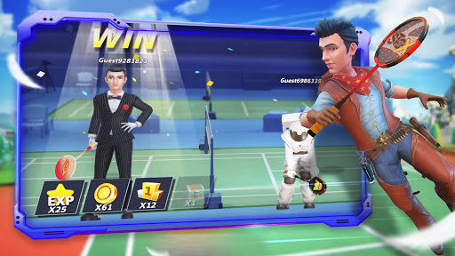 Badminton Blitz - Free PVP Online Sports Game 1.0.9.12 screenshots 7