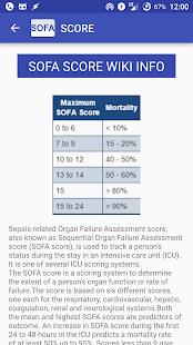 ... Sepsis Score: SOFA Calculator- screenshot thumbnail