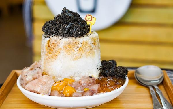 圓知圓味手作甜品&冰品。IG人氣麻糬燒冷冰/夏日消暑鳳梨冰