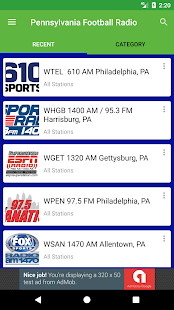Pennsylvania Football Radio - náhled