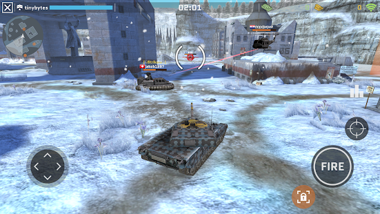 Massive Warfare: Blitz Helicopter & Tank Wars Game Screenshot
