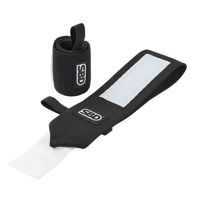 SBD Wrist Wraps, Stiff - Black/White,