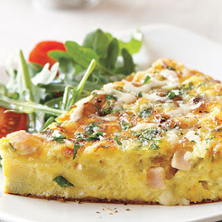 Black Forest Ham and Gruyère Frittata.
