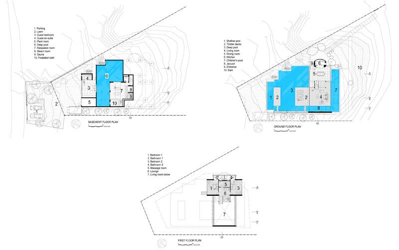Photo: Spa House - Floor Plans