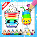 How To Draw Cute Sweet Drink icon