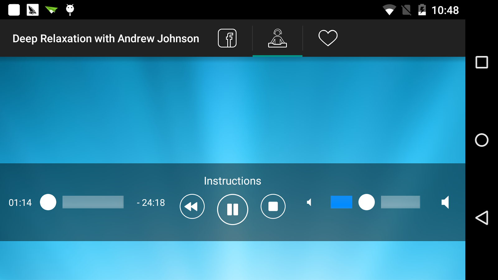 Relax with Andrew Johnson- screenshot
