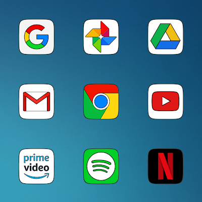 PIXEL SQUARE - ICON PACK Screenshot Image