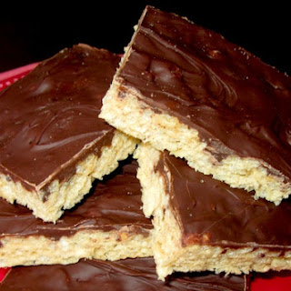 Kellogg's Peanut Butter Chocolate Rice Krispies Treats