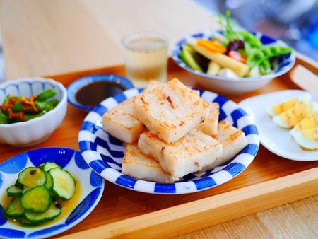 夫夫野菜。今天不吃肉,來點日式清新的健康蔬食料理吧!