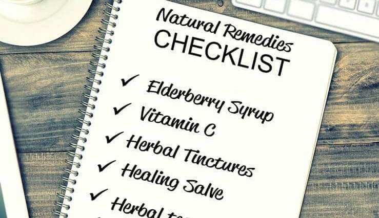 How to Create a Natural Remedies Checklist