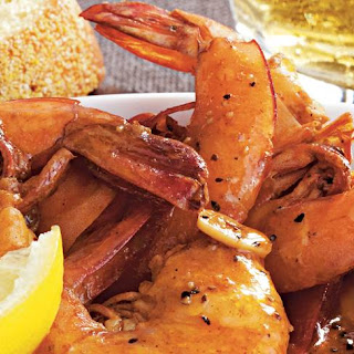 Slow-Cooker New Orleans Style Barbecue Shrimp.