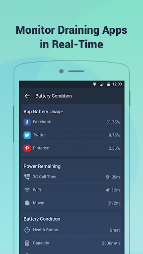 Battery Doctor-Battery Life Saver & Battery Cooler screenshot 2
