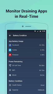 Battery Doctor-Battery Life Saver & Battery Cooler Mod 6.29 Apk [Unlocked] 2