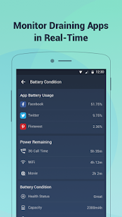 Battery Doctor-Battery Life Saver & Battery Cooler Screenshot