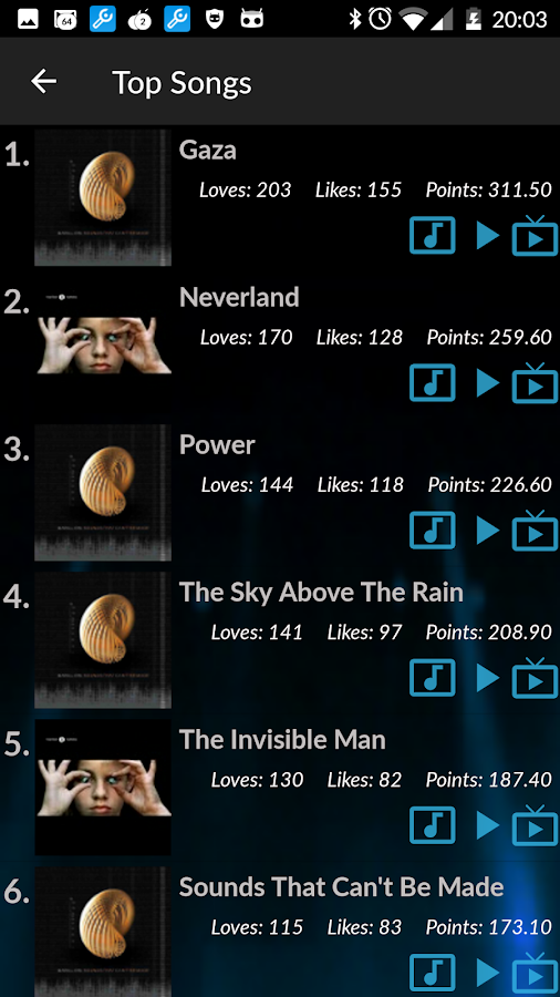Marillion - Official App- screenshot