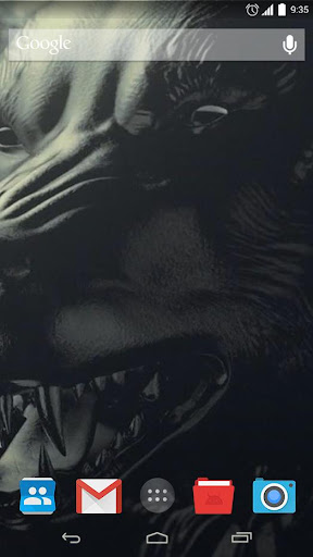 Black Animals Live Wallpaepr