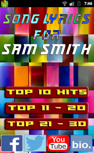 Stay With Me for SAM SMITH