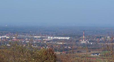 Photo: MPEC Brzesko i wschodnia część miasta