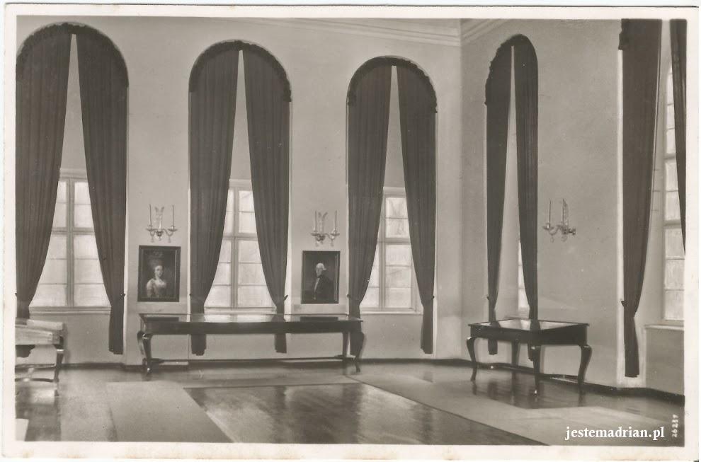 Łubowice Pałac - Pocztówka