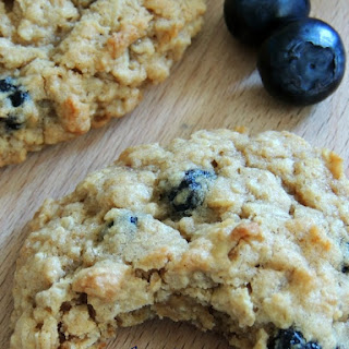 Blueberry Cobbler Oatmeal Cookies