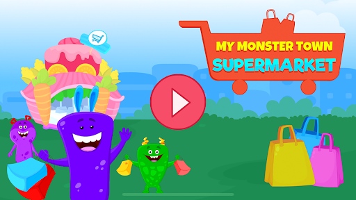 My Monster Town - Supermarket Grocery Store Games - screenshot