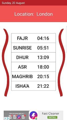 Silent Muslim - Auto-Silencer, Prayer Times  screenshots 1