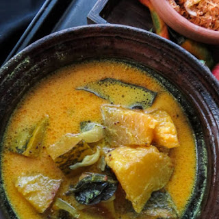 Pumpkin Curry(Sri Lankan, vegetarian).