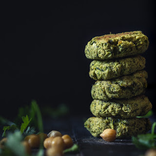 Oven-Baked Chickpea And Zucchini Falafel