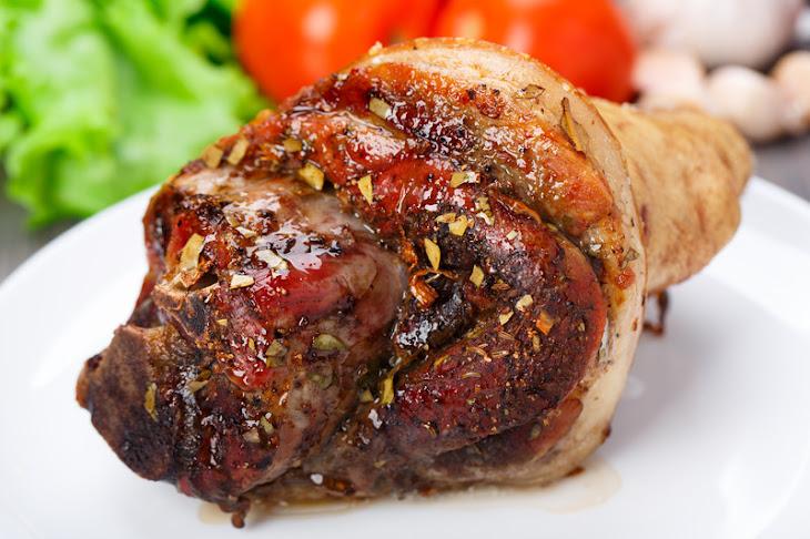 Scotch Bonnet Hot Pepper Sauce Oven-Barbecued Leg of Pork Recipe
