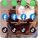 Dual Apps, Multiple Apps Cloner Parallel Space icon