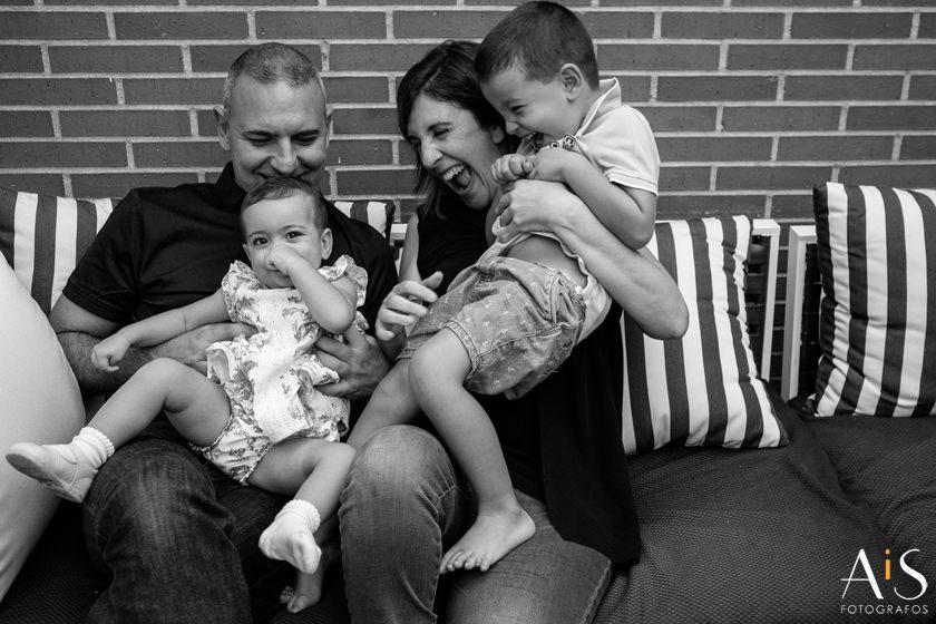 Olivia y su familia, reportaje lifestyle