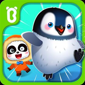 Бег. пингвины и мал.панда