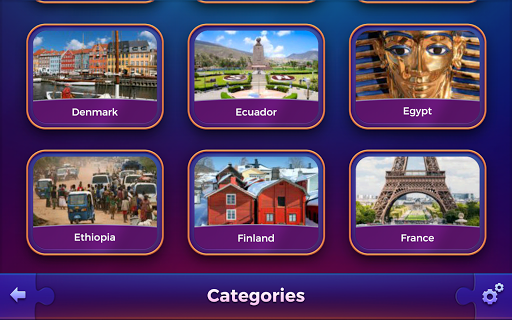 Jigsaw puzzles: Countries 🌎 screenshot 5