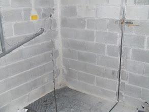 Photo: kapnica za pralni stroj in dovod mrzle vode za pipo