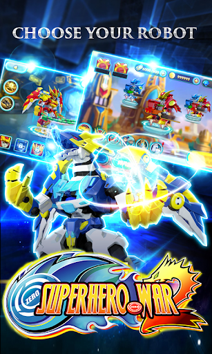 Code Triche Superhero War: Robot Fight - City Action RPG APK MOD screenshots 5