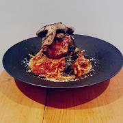 Spaghetti & Giant Meatballs