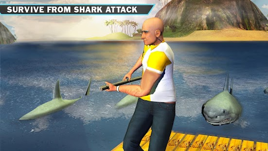 Ocean Raft Survival Simulator - náhled