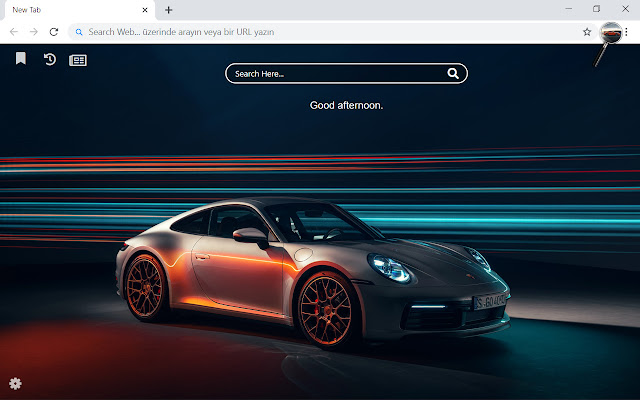 Porsche 2019 HD Wallpapers New Tab