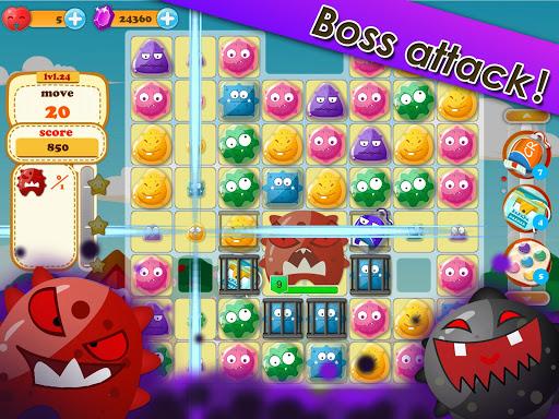 Cavity Rush - Match 3 Puzzles