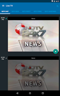 NDTV News - India - screenshot thumbnail