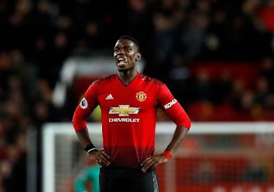 Coup dur pour Manchester United : Paul Pogba encore absent plusieurs semaines !