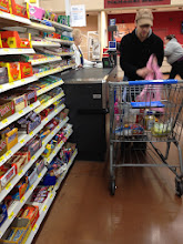 Photo: she was a friendly cashier...
