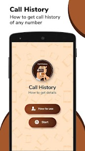 Call History : Any Number Details 2